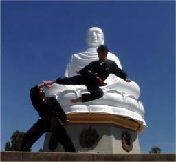Maestro Bao Lan in azione